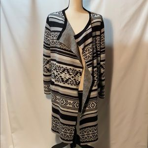 Women's 1x Long Sweater Cynthia Rowley